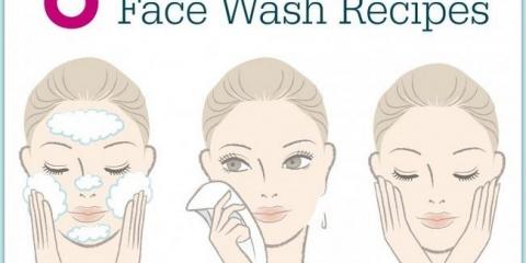 8 lavado de cara natural recetas que usted puede hacer en casa