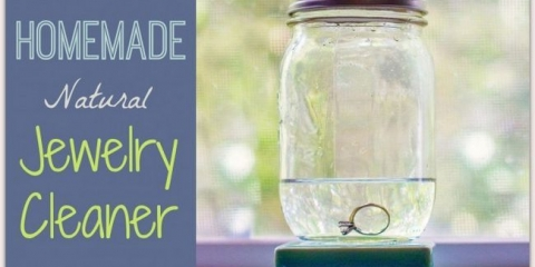 Un eficaz limpiador natural de la joyería hecha en casa