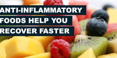 Alimentos antiinflamatorios dieta para combatir la inflamación