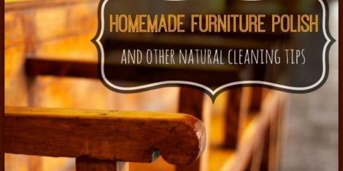 Limpiar y pulir su casa de forma natural
