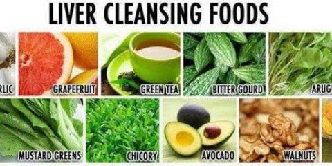 Los alimentos que limpian el hígado