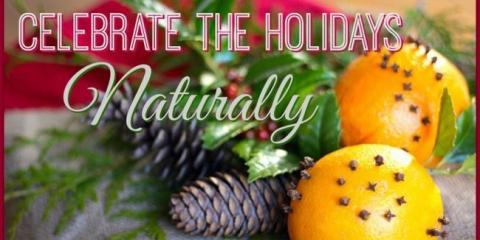 Ideas para la celebración de las fiestas de forma natural