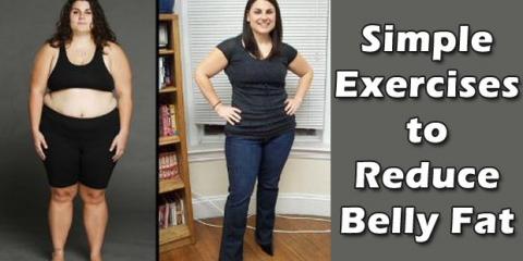 Ejercicios sencillos para reducir la grasa del vientre en el hogar