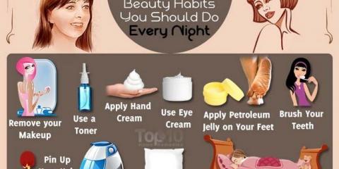 10 hábitos de belleza que debe hacer cada noche