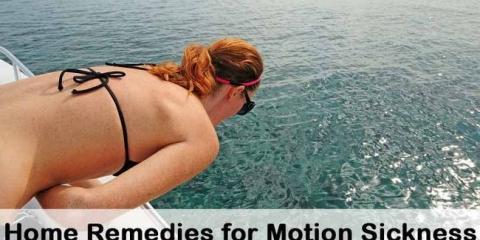 10 remedios caseros de bricolaje para el mareo por movimiento