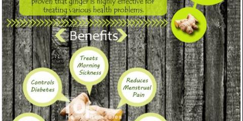 10 Beneficios para la salud de jengibre