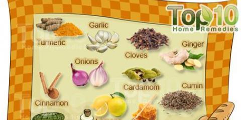 10 ingredientes de cocina que funcionan como medicamentos