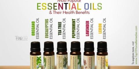 10 aceites esenciales más populares y sus beneficios para la salud
