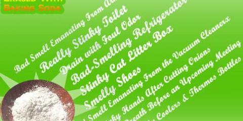 10 Realmente malos olores borrar con bicarbonato de sodio