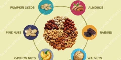 5 frutas secas que ralentiza el proceso de envejecimiento