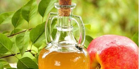 El vinagre de manzana para el reflujo ácido