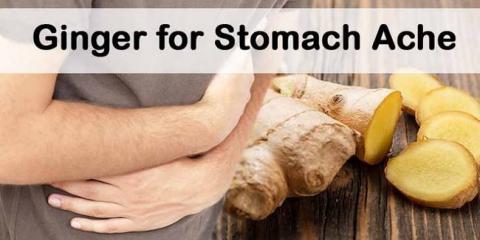 Jengibre para el dolor de estómago