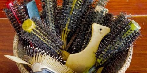 Cepillo redondo con cerdas Desglose: Nylon, Jabalí, Mixto