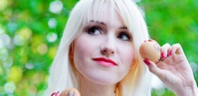 El bálsamo la máscara contra la caída de los cabello repeynaya
