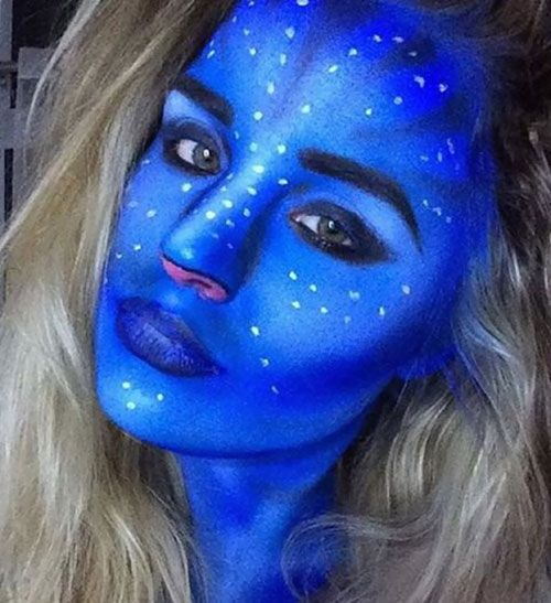 17 Ideas de maquillaje loco de Halloween
