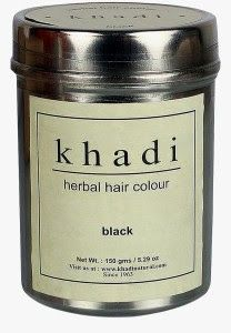 Khadi color del cabello a base de hierbas Negro