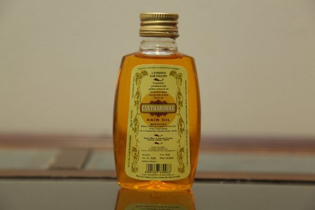 Cantharidine aceite del pelo