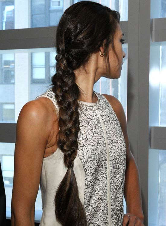 Grueso-Four-Strand-Braid-con-rizado-Ends Bang-y